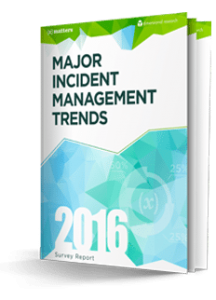2016 Survey Report: Major Incident Management Trends