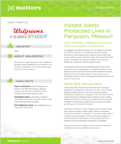 Walgreens: Instant Alerts Protected Lives
