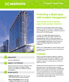 CityPoint Case Study: Protecting a Skyscraper
