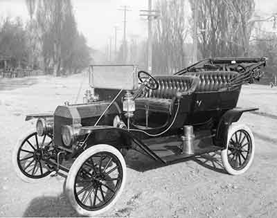 The Ford Model T revolutionized production.